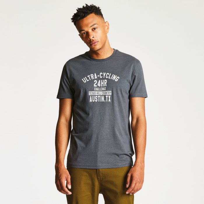 Men's Racemaker T-Shirt Charocal Grey