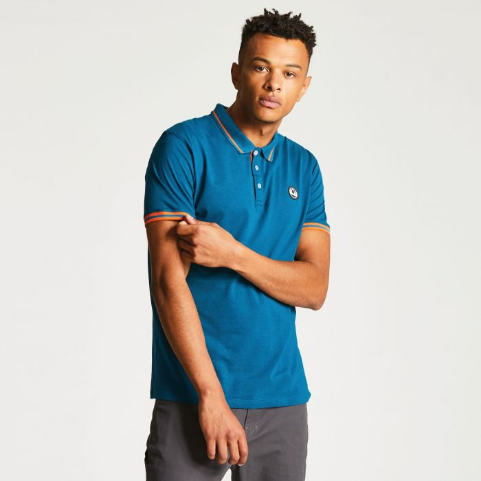 Men's Precedent Polo Shirt Kingfisher Blue