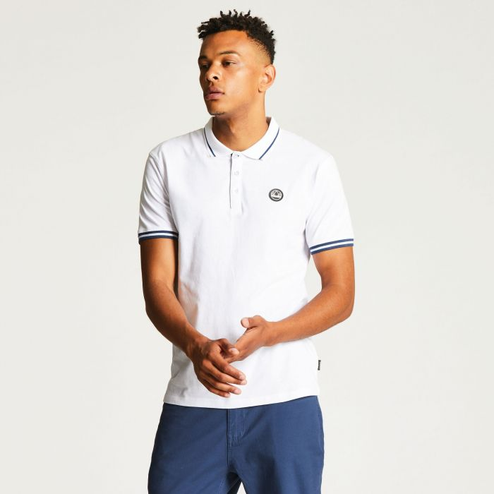 Men's Precedent Polo Shirt White