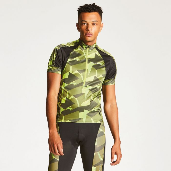 Men's Eminent Cycle Jersey Lime Punch