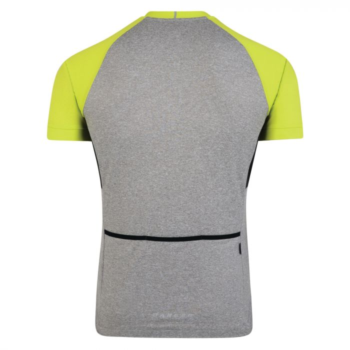 Men s Sequal Cycle Jersey Ash Lime Punch  3dc1fa5a0