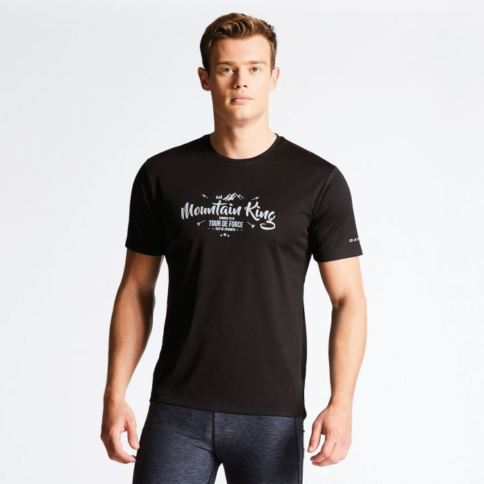 Men's Typescript Casual T-Shirt Black