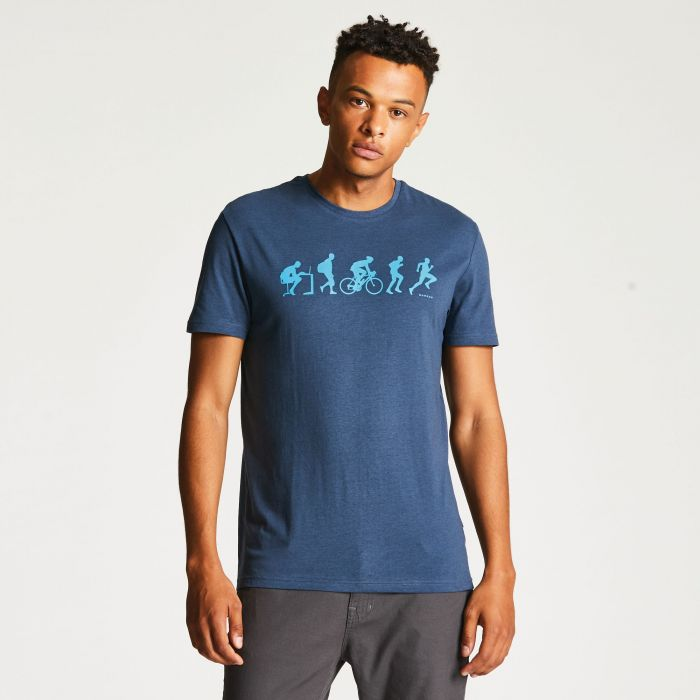 Men's Aventor Casual T-Shirt Admiral Blue
