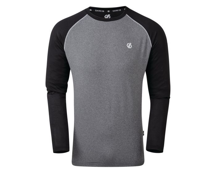 Men's Realize Long Sleeve T-Shirt Ebony Grey Black