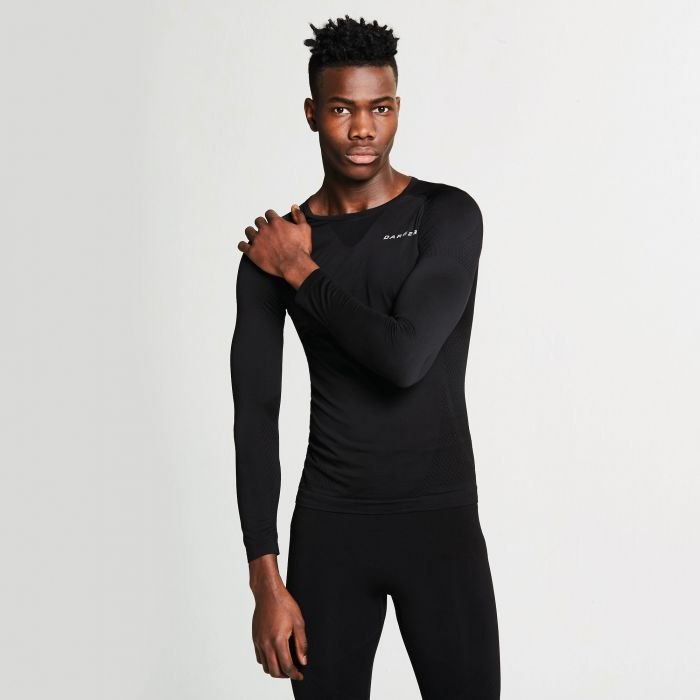 Men's Zonal III Long Sleeve Base Layer Top Black