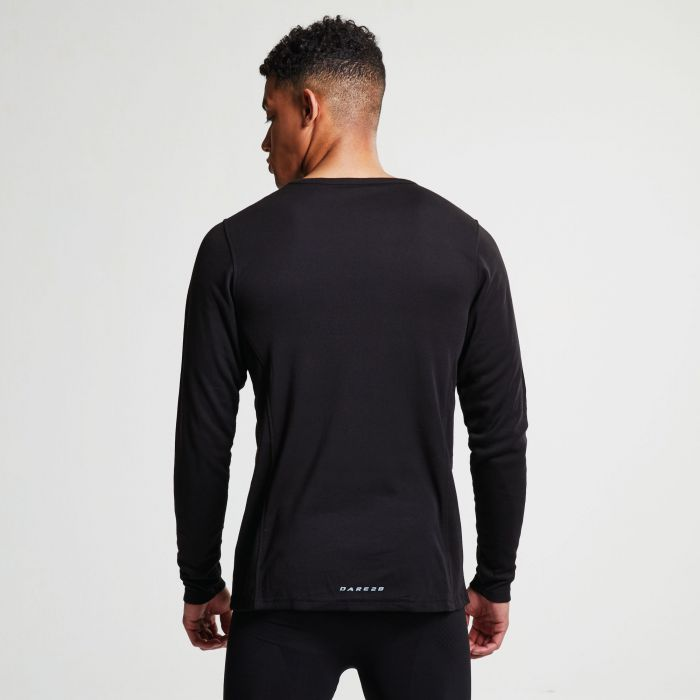 6fd1652f5 Men's Insulate Long Sleeve Base Layer Top Black