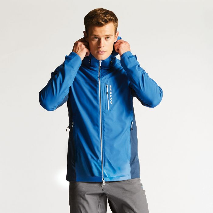 Men's Diligence Jacket National Blue/Admiral Blue