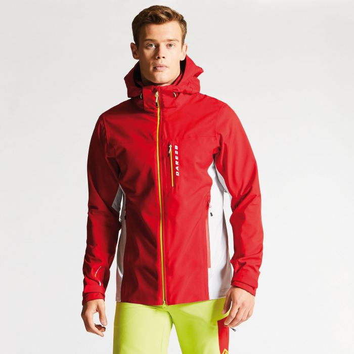 Men's Diligence Jacket Danger Red/Cyberspace Grey
