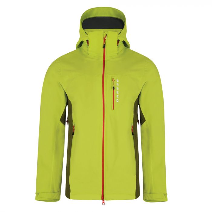 Men's Diligence Jacket Lime Punch/Cardamom