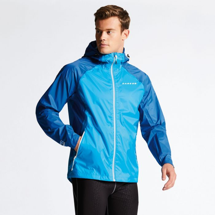Men's Precept Jacket Fluro Blue/National Blue