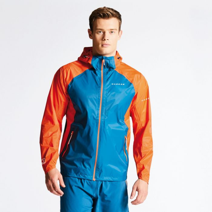 Men's Precept Jacket Kingfisher/Pumpkin