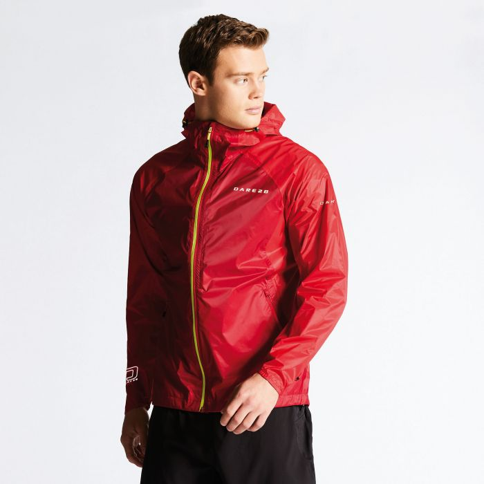 Men's Precept Jacket Dark Red/Danger Red