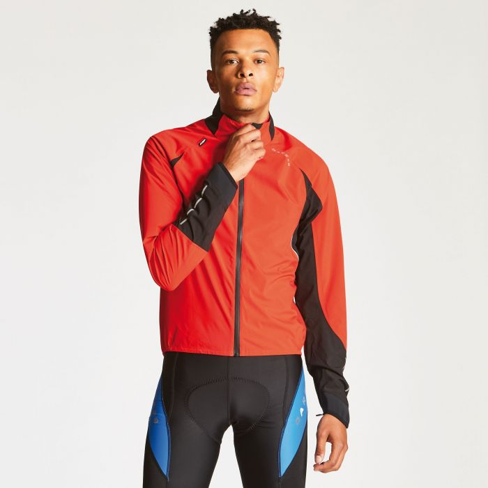 Men's Waterproof AEP Chaser Jacket Seville Red/Black