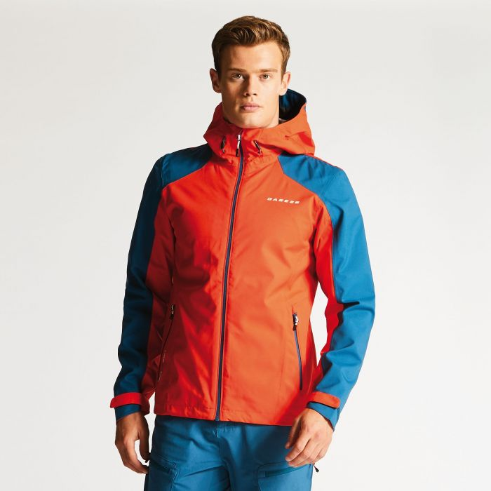 Men's Rectitude II Waterproof Jacket Amber/Blue