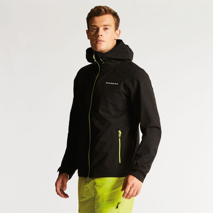 Men's Rectitude II Waterproof Jacket Black