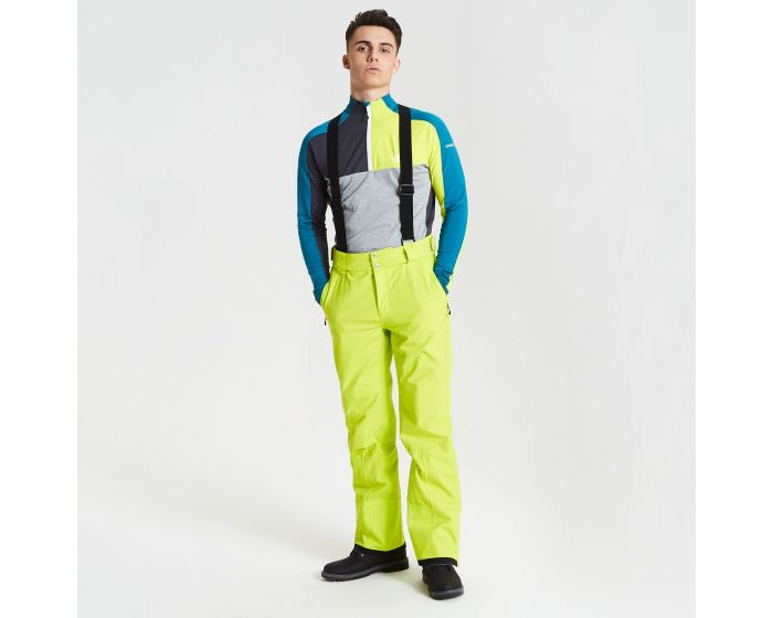 Mens Achieve Ski Pants Citron Lime