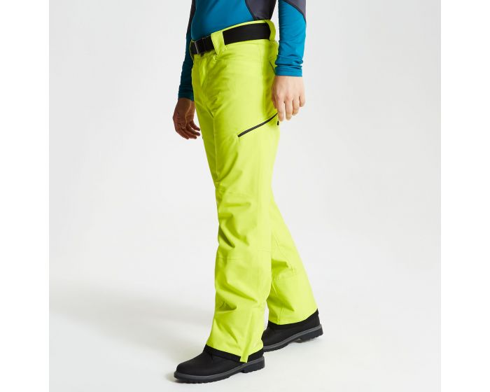 Mens Absolute Ski Pants Citron Lime