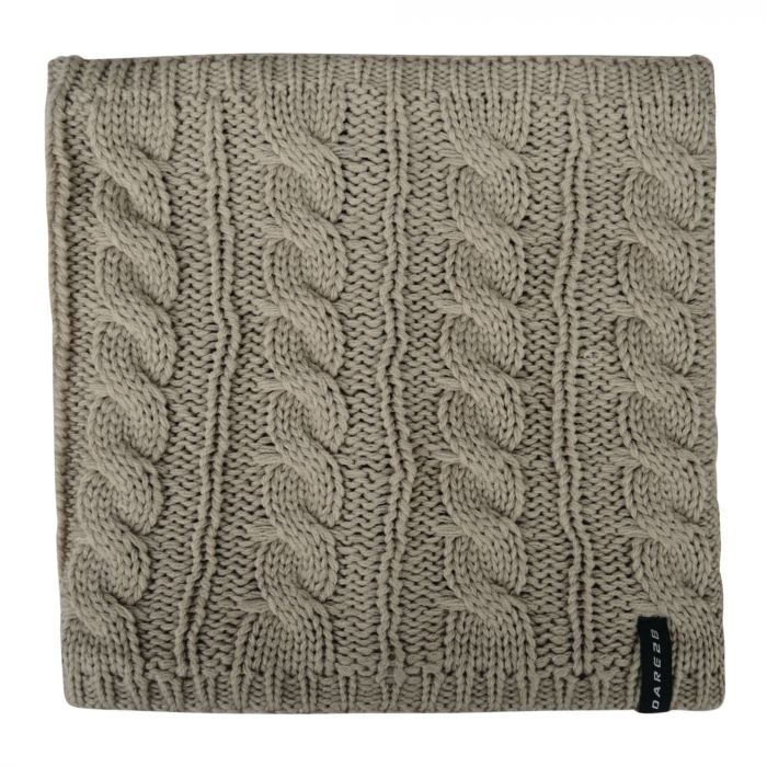 Weave Out Neck Warmer Oatmeal