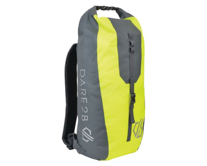 Ardus 30l Waterproof Backpack Fluro Yellow Ebony