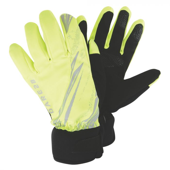 Illume Cycle Gloves Yellow Fragment