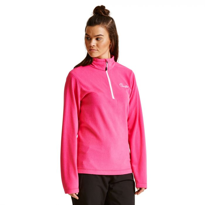 Women's Freeze Dry II Half Zip Fleece Cyber Pink