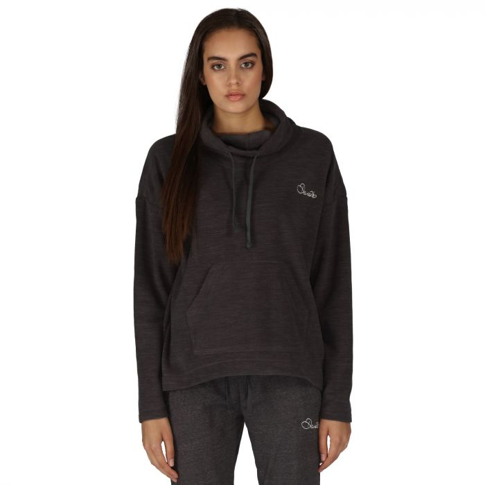 Women's Prudent Marl Fleece Charcoal Mar