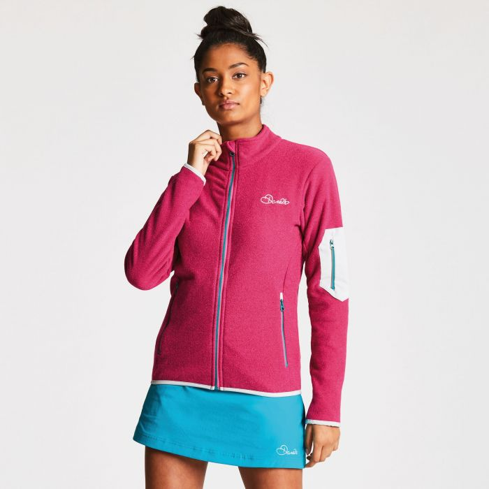 Women's Perimeter Fleece Cyber Pink