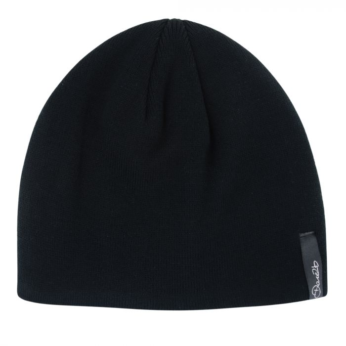 Women's Tactful Beanie Hat Black