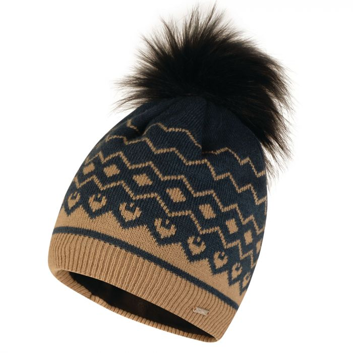 1623dee2 Women's Coincide Bobble Beanie Hat Blue Wing | Dare 2b | Dare2b