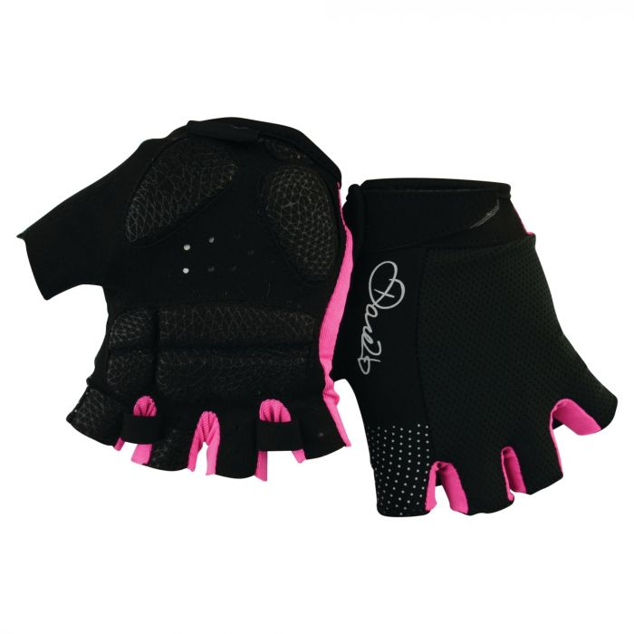 Women's Grasp II Cycle Mitts Black/Pink
