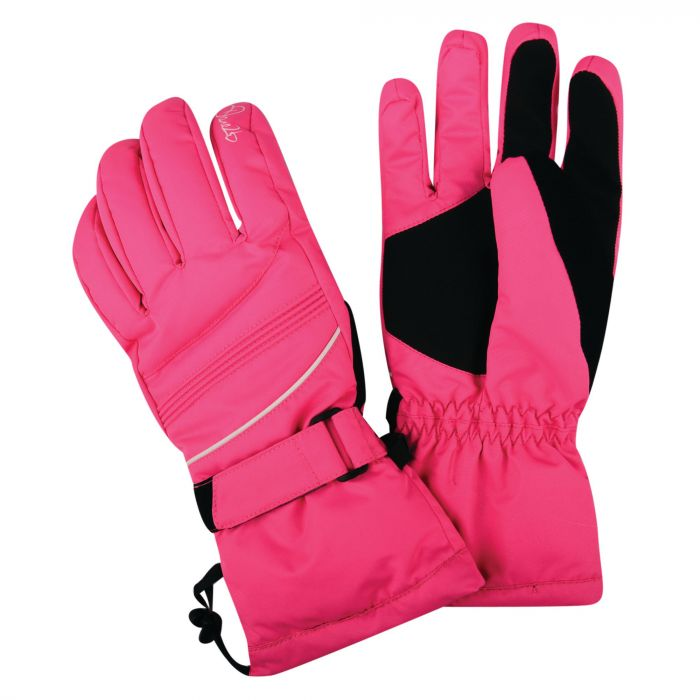 Women's Summon II Ski Gloves Cyber Pink