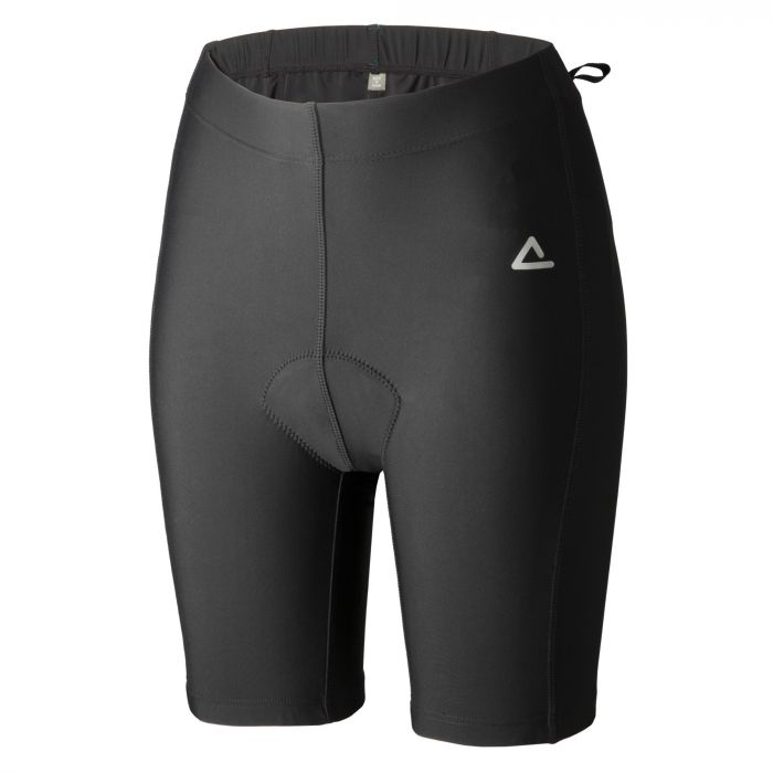 Womens Saddle Sure Short Black