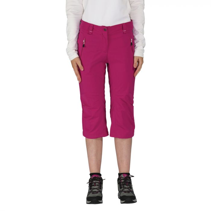 Women's Melodic Cropped Trousers Purple