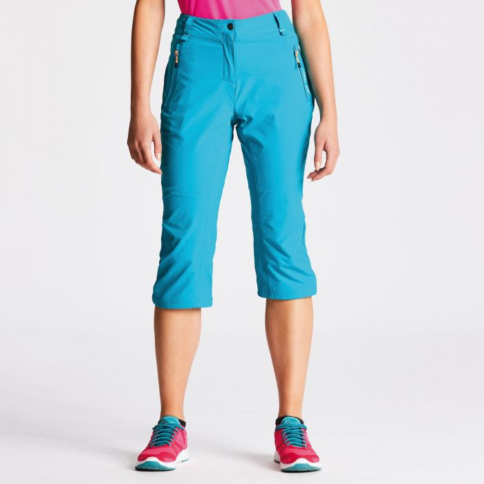 Women's Melodic Cropped Trousers Blue