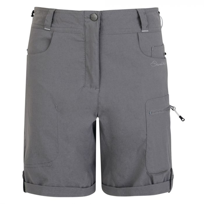 Women's Melodic Walking Shorts Smokey Grey