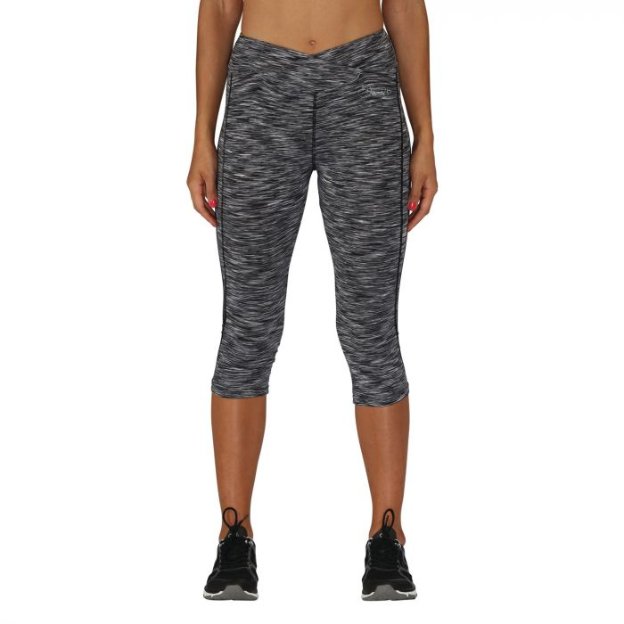Women's Articulate 3/4 Running Tights Grey