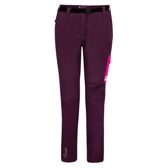 Appressed Trousers Lunar Purple Neon Pinkk