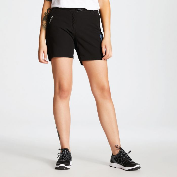 76926c084b Women's Revify Lightweight Multi Pocket Walking Shorts Black. DWJ441_800 1