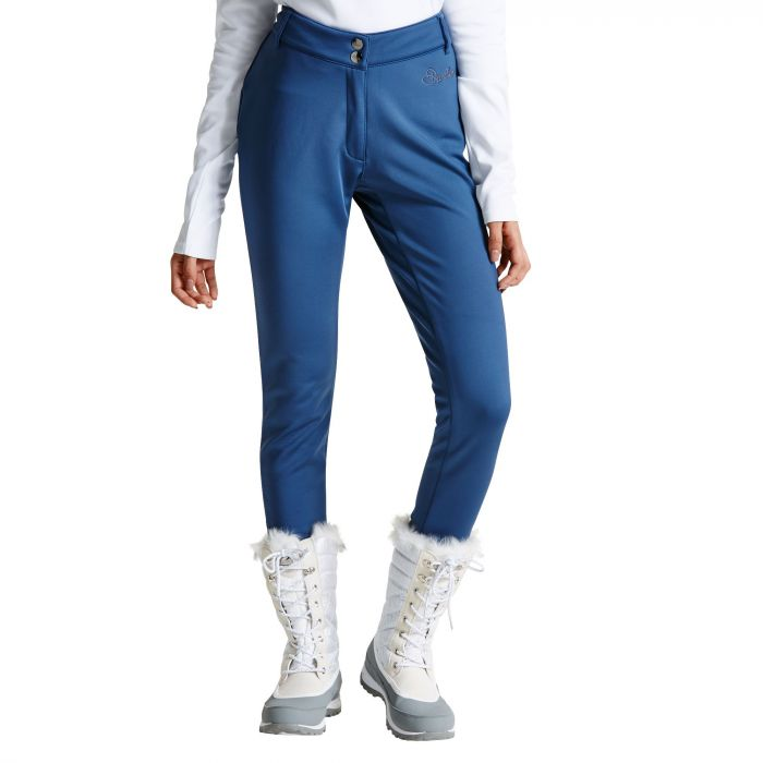 Women's Shapely Trouser Ski Pants Admiral Blue