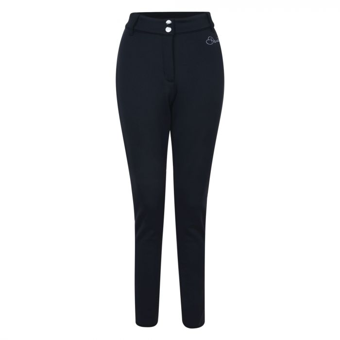 Women's Shapely Trouser Ski Pants Black