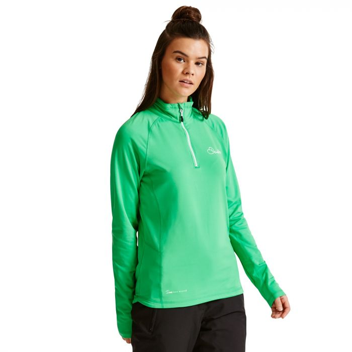 Women's Involve Core Stretch Midlayer Acid Green