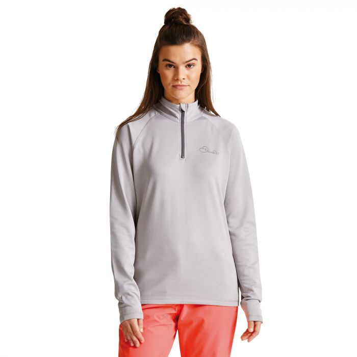 Women's Loveline III Core Stretch Midlayer Silver Flash