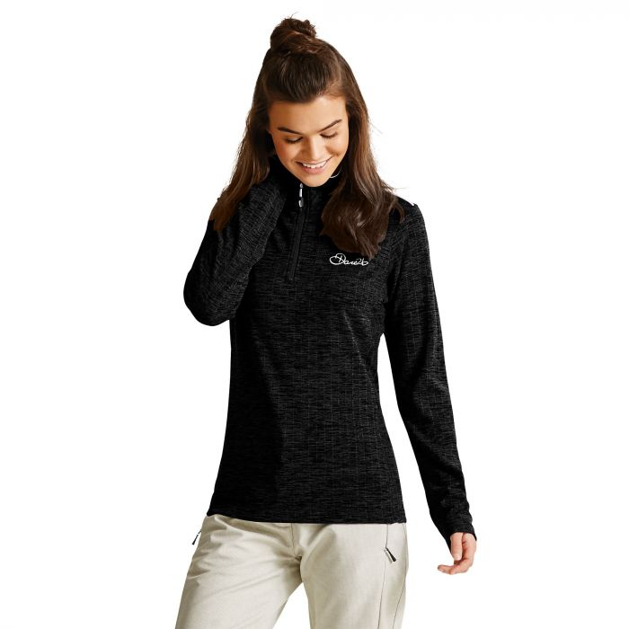 Women's Outlay Core Stretch Midlayer Black
