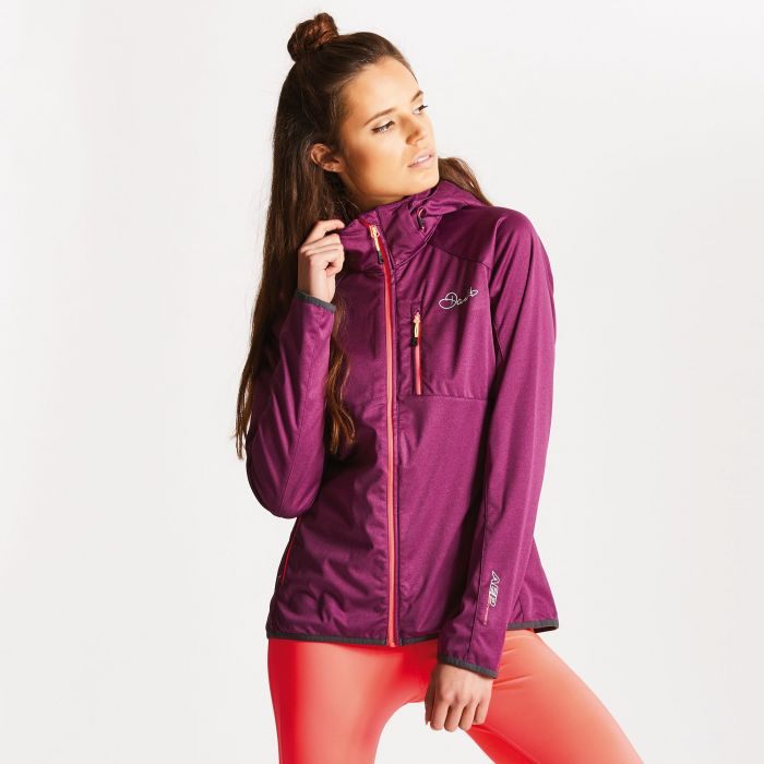 Women's Tractile Softshell Jacket Lunar Purple