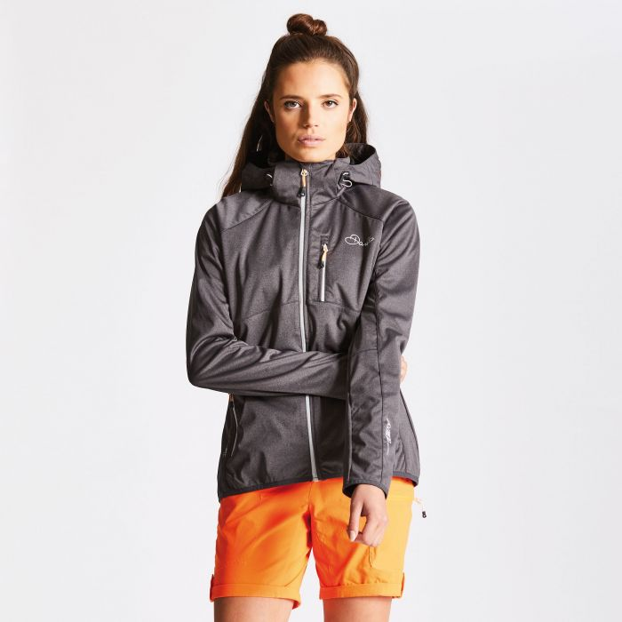 Women's Tractile Softshell Jacket Charcoal Grey