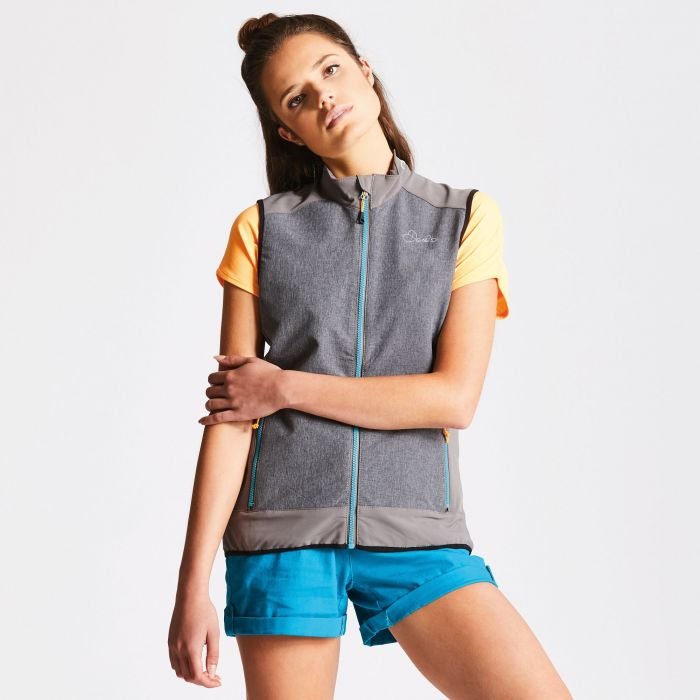 Women's Duality Vest Smokey Grey/Charcoal Grey