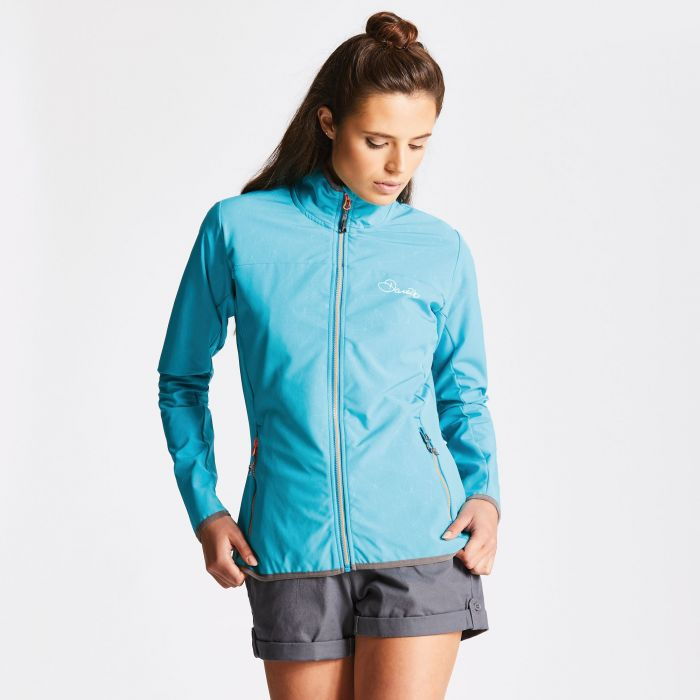 Women's Centra Softshell Jacket Sea Breeze Blue