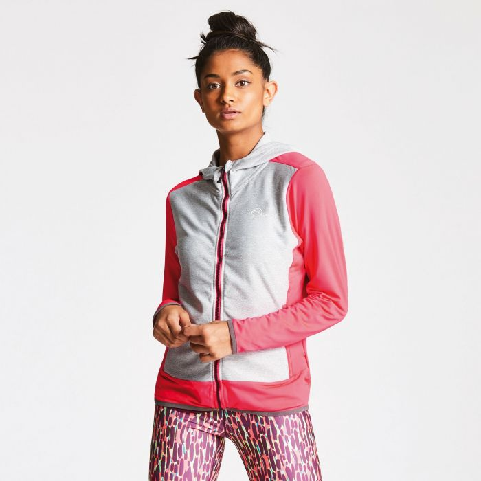 Women's Immerge Core Stretch Jacket Neon Pink/Ash