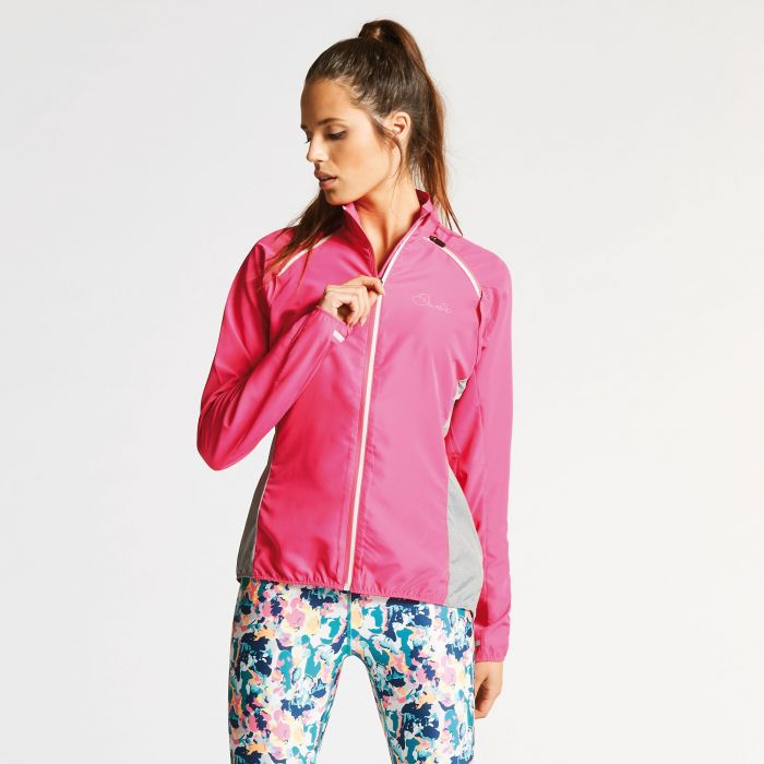 Women's Unveil II Windshell Jacket Cyber Pink