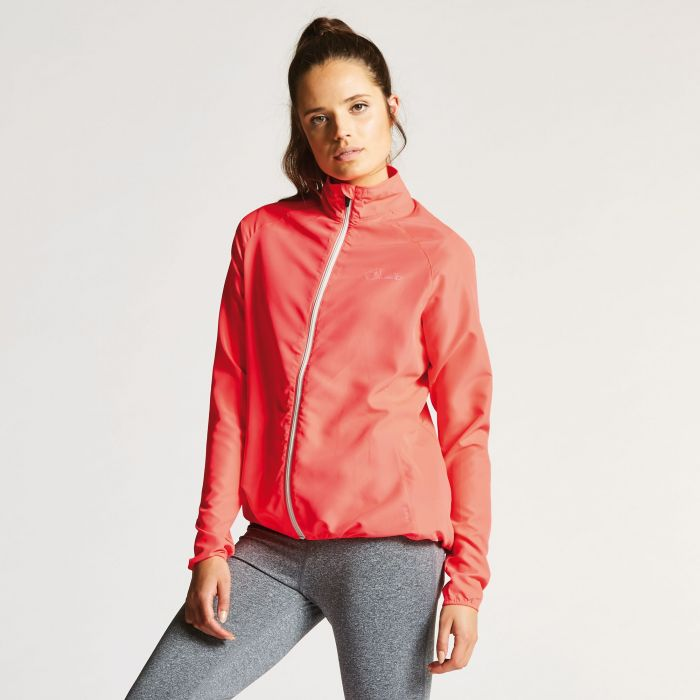 Women's Blighted II Windshell Jacket Neon Pink